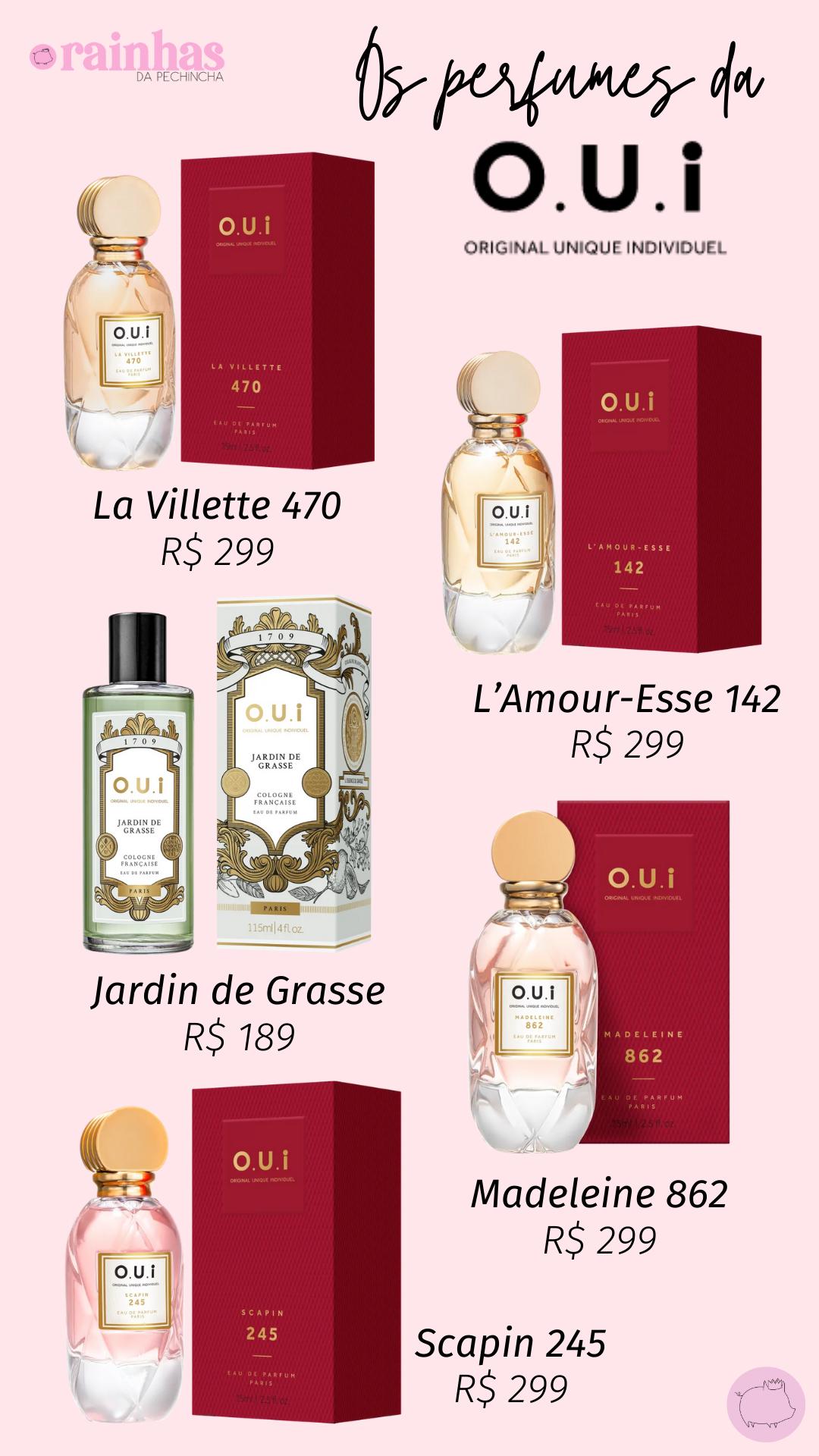 perfumes oui